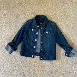 Gap Kids Dark Blue Denim Jacket Size S
